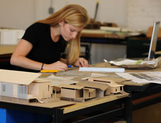architecture-student-female-drafting